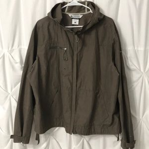 Columbia waterproof windbreaker Omni Shade 2X